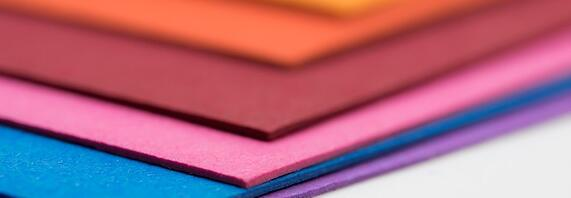 wide colored paper