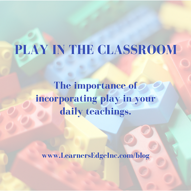 The Importance Of Recess Two Videos >> Play In The Classroom
