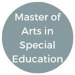 Master of Arts in Special Education (1)