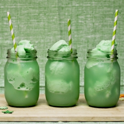 lime sherbet floats