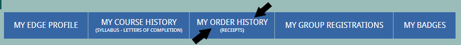 My Order History