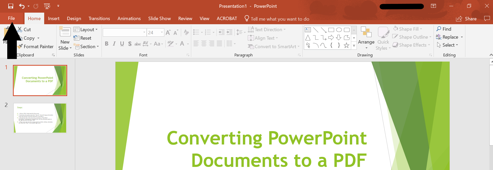 PowerPoint - File